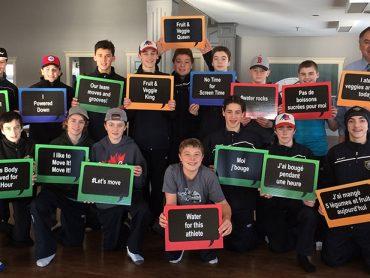 L'équipe de Hockey Northern Knights Bantam AAA